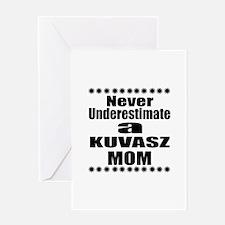 Kuvasz Mom Greeting Card