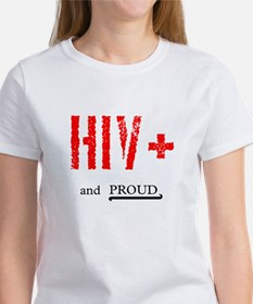 HIV+ and Proud Tee