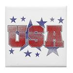USA Tile Coaster