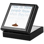 Blind Wipe Keepsake Box
