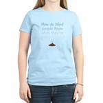 Blind Wipe Women's Pink T-Shirt