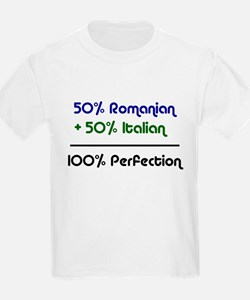 Italian & Romanian Kids T-Shirt