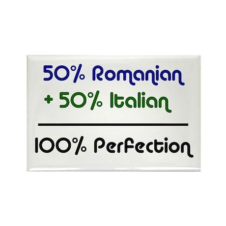 Italian & Romanian Rectangle Magnet