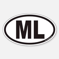 ML Euro Oval Decal