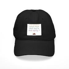 Blind Wipe Baseball Hat