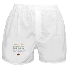 Blind Wipe Boxer Shorts