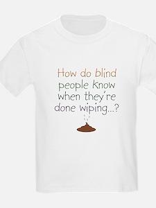 Blind Wipe Kids T-Shirt