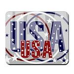 USA Patriotic Mousepad