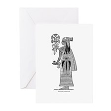 Egyptian Priestess Greeting Cards (Pk of 10)