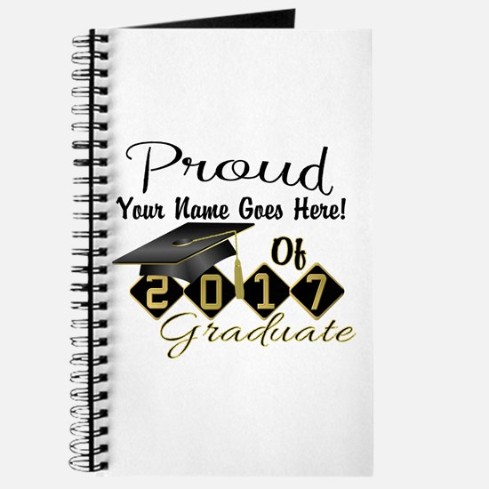Proud 2017 Graduate Black Journal