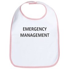 Emergency Management - Black Bib