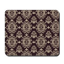 Gorgeous Vintage Shabby Chic Damask Mousepad