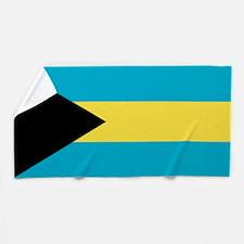 Flag of the Bahamas Beach Towel