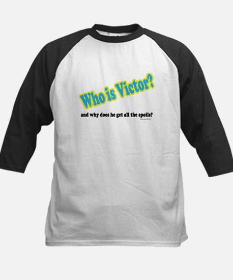 Who Is Victor? Kids Baseball Jersey