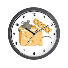 Mouse 'n Cheese Wall Clock