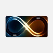 Infinite Light Aluminum License Plate