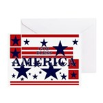 God Bless America Greeting Cards (Pk of 10)