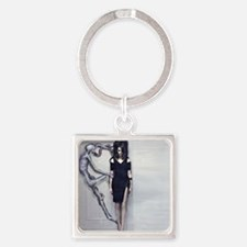 BODY AND SOUL TAKE OVER (2) Square Keychain