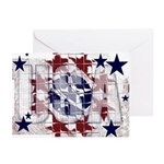USA Greeting Cards (Pk of 10)