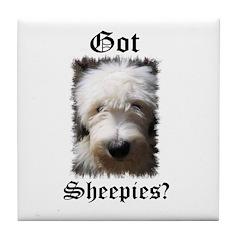 Got Sheepies? Tile Coaster