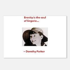 Dorothy_parker brevity lingerie.psd Postcards (Pac