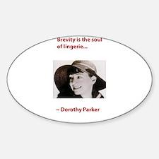 Dorothy_parker brevity lingerie.psd Decal