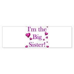 Original - Big sister logo Bumper Bumper Sticker