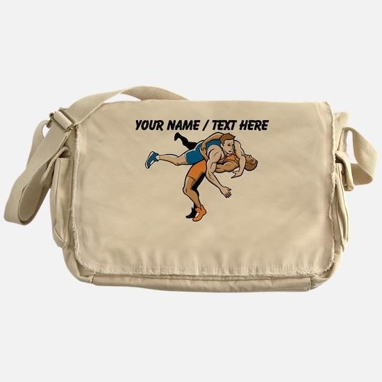 Custom Wrestling Messenger Bag
