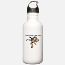 Custom Wrestling Sports Water Bottle