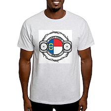 North Carolina Biking T-Shirt