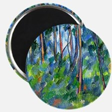 Cezanne: In the Woods Magnet