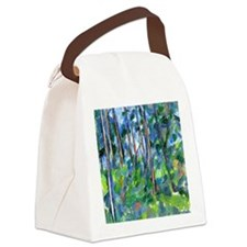Cezanne: In the Woods Canvas Lunch Bag