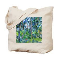 Cezanne: In the Woods Tote Bag