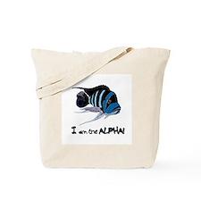 I am the Alpha (white) Tote Bag