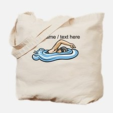 Custom Swimmer Tote Bag