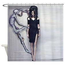 Funny Dead snake Shower Curtain