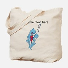 Custom Backstroke Tote Bag