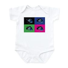 Alpha Colortile Infant Bodysuit