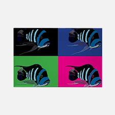 Alpha Colortile Rectangle Magnet