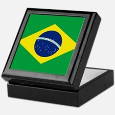 Flag of Brazil Keepsake Box