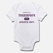 Yorkiepoo Infant Bodysuit