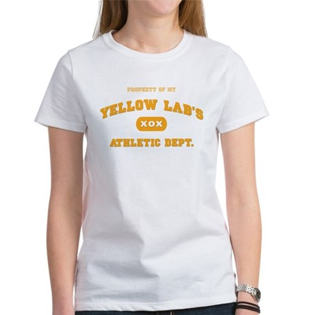 Yellow Lab Women's T-Shirt