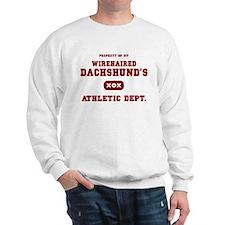Wirehaired Dachshund Sweatshirt