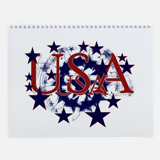 Patriotic USA Prints 2007 Wall Calendar