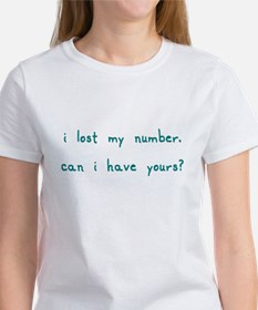 Lost Number T Tee