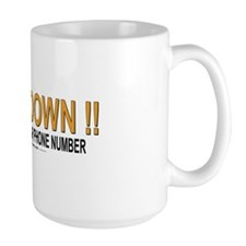 Slow Down Large Mug