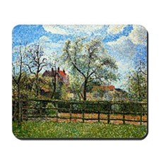 Pissarro: Pear Tree and Flowers at Eragn Mousepad