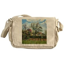 Pissarro: Pear Tree and Flowers at E Messenger Bag