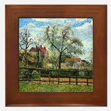 Pissarro: Pear Tree and Flowers at Era Framed Tile