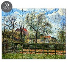 Pissarro: Pear Tree and Flowers at Eragny,  Puzzle